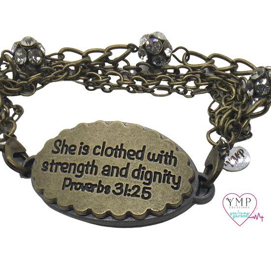 Proverbs Bracelet