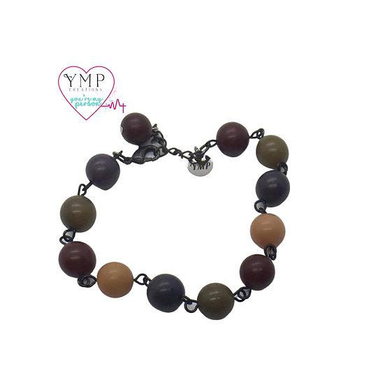 Multi-Color Bead Bracelet
