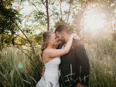 Shannon and Matt: A touch of Hawaii in Idaho