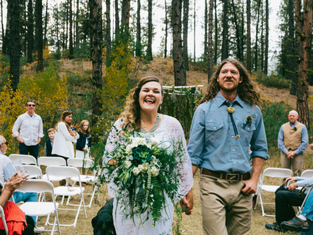 Lael & Josh : Idaho City Wilderness Wedding