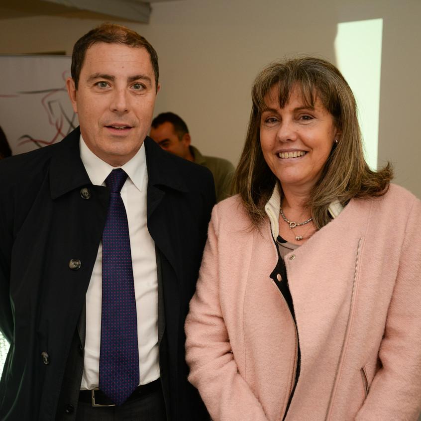 Gabriel Odone y Mariela Grosso