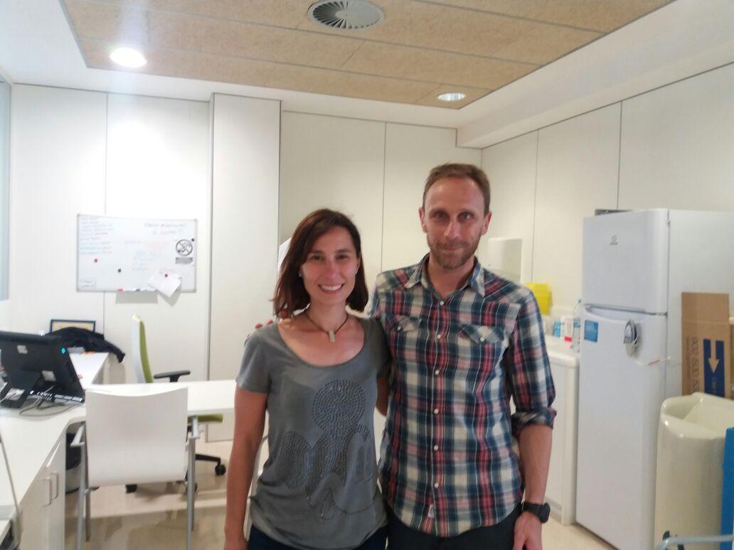 Dra. Eva Ferrer y G. Gioscia