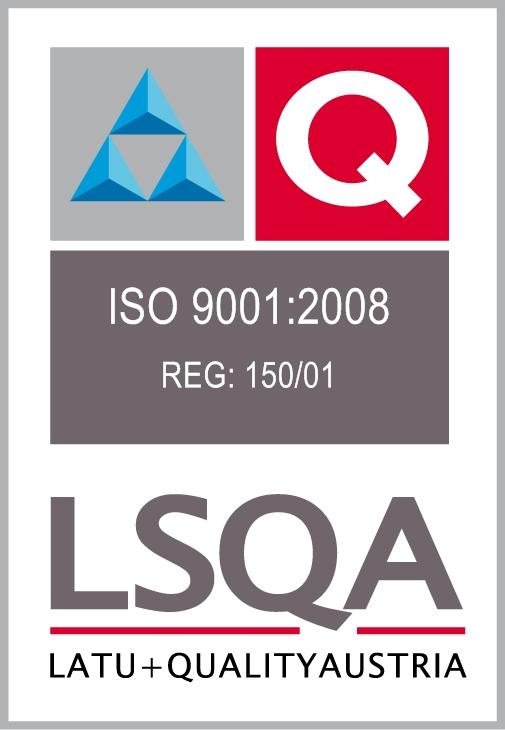 LATU 9001-2008 REG- 150-01