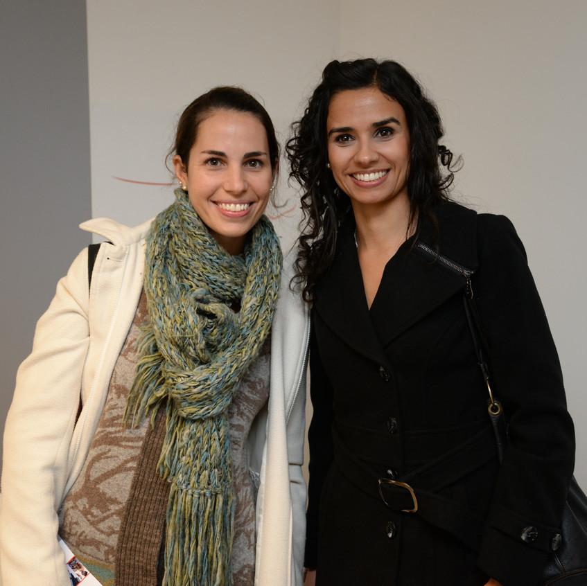 Lucia Martinez y Gabriela Ocampo