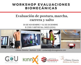workshop de evaluaciones biomecánicas