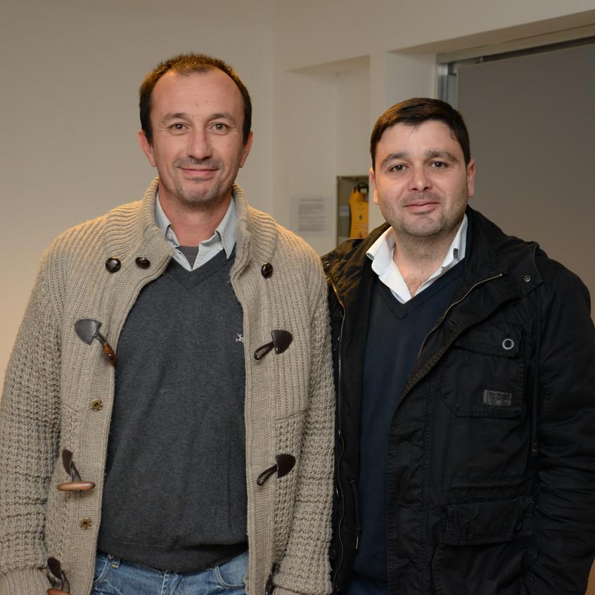 Jorje Acosta y Pablo Labella