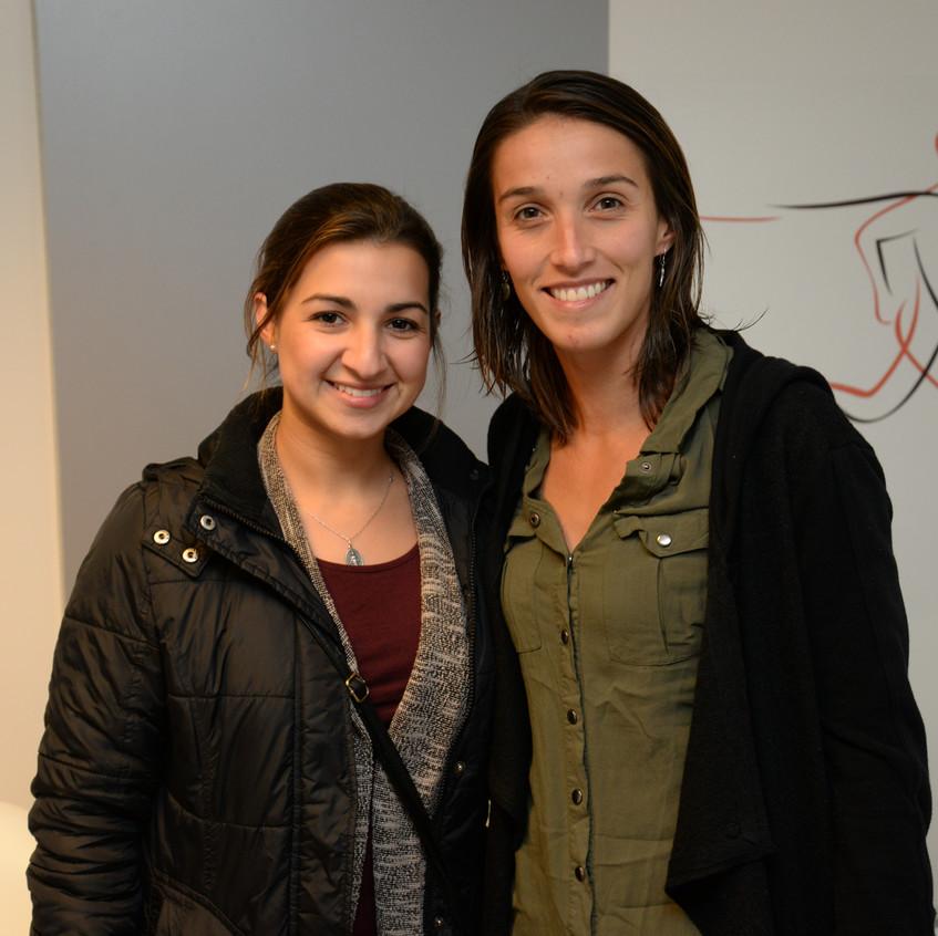Mayra Guimaraes y Ana Leite