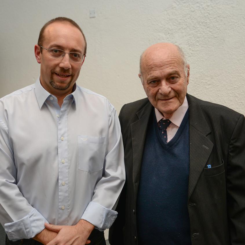 Luis Eduardo Inzaurralde e Ismael Blankleder