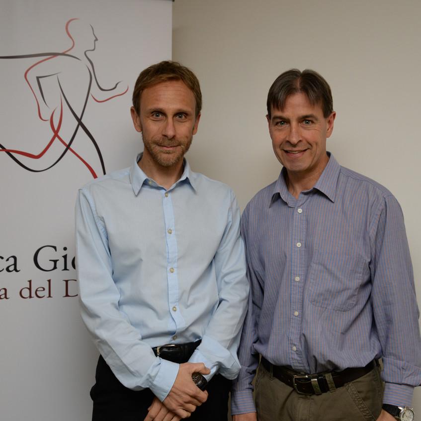 Gaston Gioscia y Carlos MAgallanes