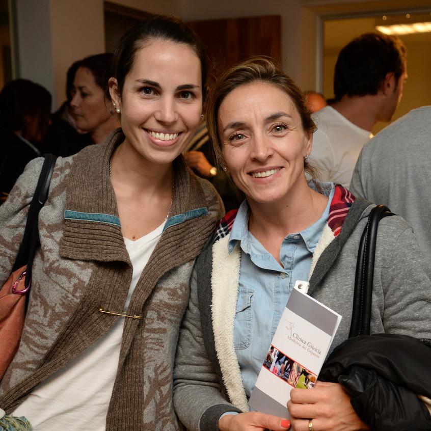 Lucia Martinez y Karina Rocha
