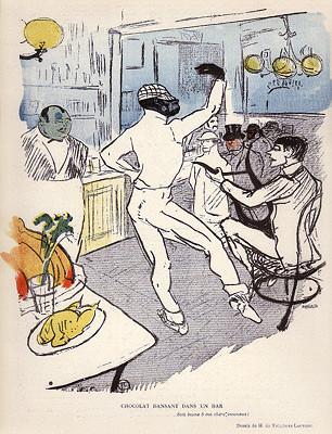 Le Chocolat Dansant dans un bar de Toulouse-Lautrec ©Wikipédia