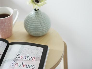 """""""QUATRE COULEURS"""", UN ROMAN GRAPHIQUE EN QUADRICOLORE"""