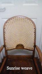 sunrise cane chair