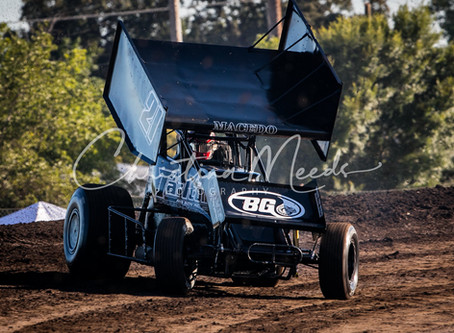 Cole Macedo Hounded By Tough Luck in Hanford, CA