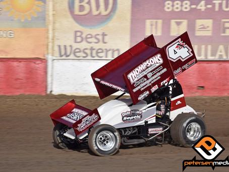 Sanders Has Career Best Trophy Cup with Dale Miller Motorsports