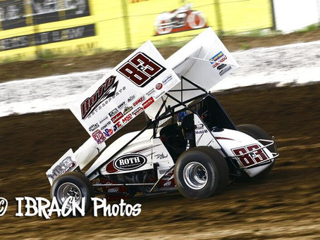 Gravel Scores World of Outlaw Top-10 at Jackson Speedway