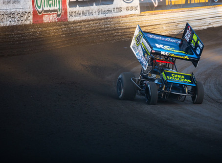 McCarl Second in Rare USCS Appearance