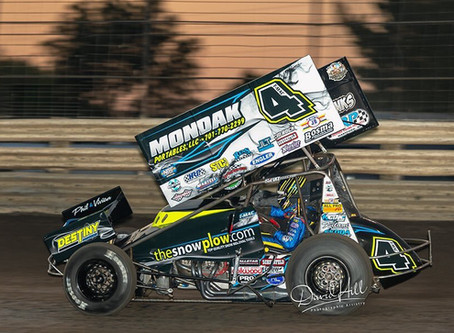 McCarl Closes Knoxville Season With 4thPlace Finish