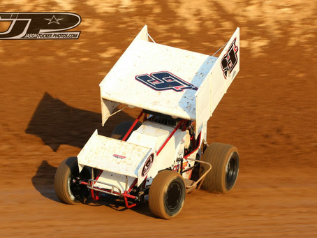 Bad Luck Bites Cody Lamar Late at Placerville Speedway