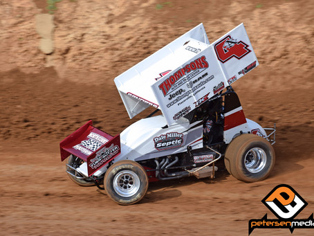 Second at Placerville Speedway for Sanders and Dale Miller Motorsports