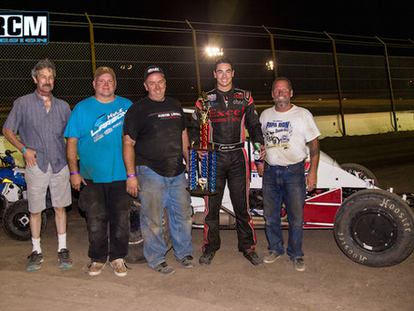 Austin Liggett and Brian Sperry Racing Dominant in Stockton Victory