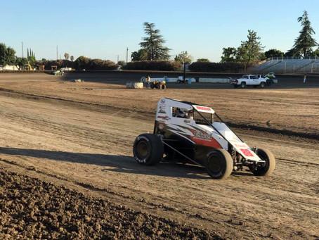 Gremlins Derail Austin Liggett at Merced Speedway