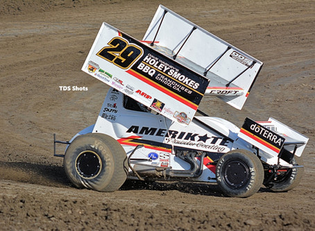 Willie Croft Ready To Roll at Placerville Following Hard Crash