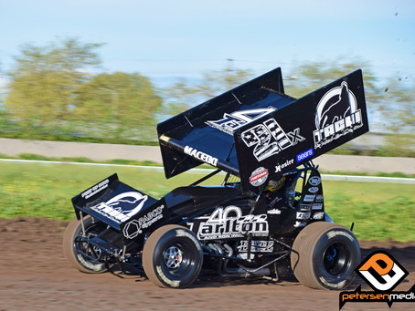 Macedo Overcomes Early Trouble To Finish Ninth With World of Outlaws