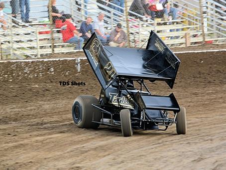 Tarlton Battles Back to Finish Second in Hanford, CA