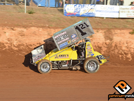Sanders Picks Up World of Outlaws Podium