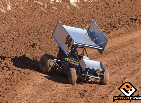 Steven Tiner Fourth at Placerville Speedway