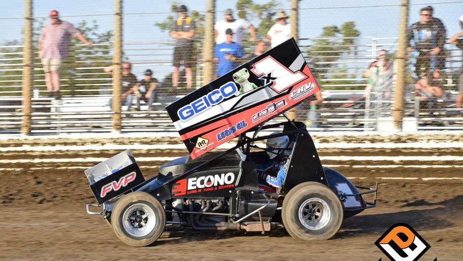 Engine Woes Sideline Forsberg at Merced Speedway