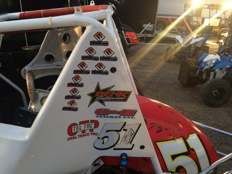 Brian Sperry Racing Wraps Up 2017 Hunt Magnetos Wingless Series pres. by C&H Veteran Enterprise