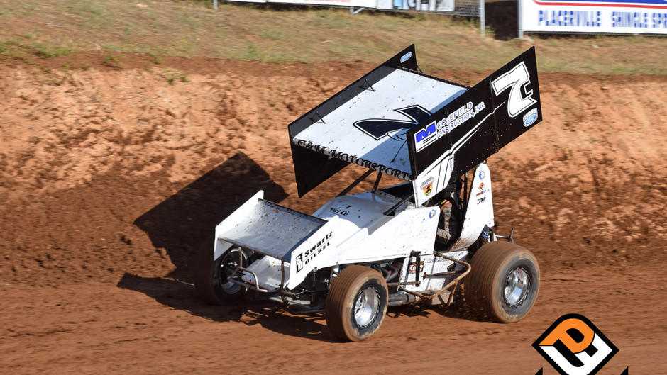 Sean Becker Hard Charges to Third Place Finish at Placerville Speedway with C&M Motorsports