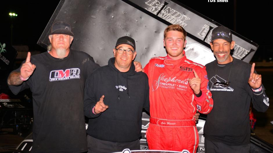 Cole Macedo Grabs Win at Ocean Speedway