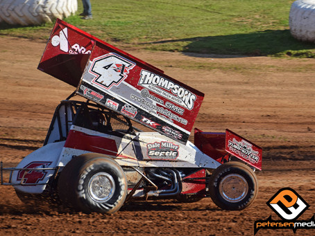 Justin Sanders Sixth at Placerville Speedway on Saturday Night