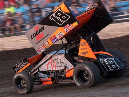Ian Madsen Pockets World of Outlaws Top-10 at Lake Ozark