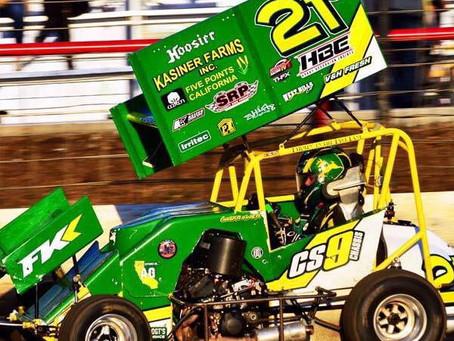 Kasiner Third at Arkoma Speedway