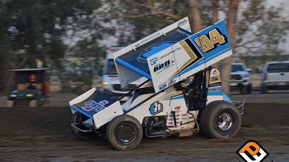 Mid Race Contact Derails Kyle Hirst's Charge on Saturday Night