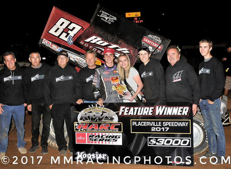 Video! Track Pass: 2017 Placerville Speedway KWS