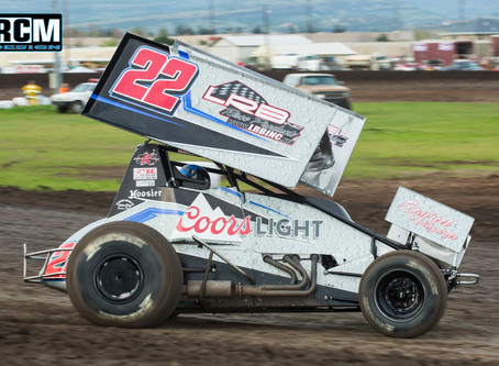 Mason Moore Battles For Sixth at Silver Dollar Speedway