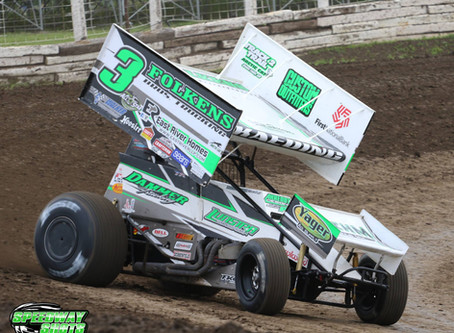 Tim Kaeding Looks For Redemption With World of Outlaws Tonight After Rough Night at River Cities Spe
