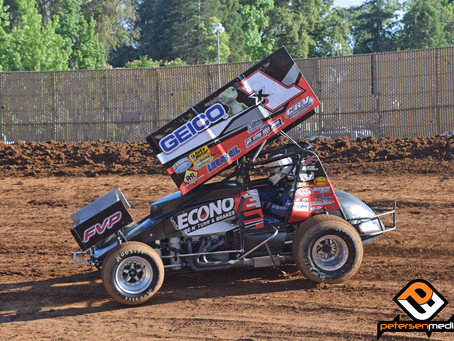 Opening Lap Wreck Ends Andy Forsberg's Night at Placerville Speedway