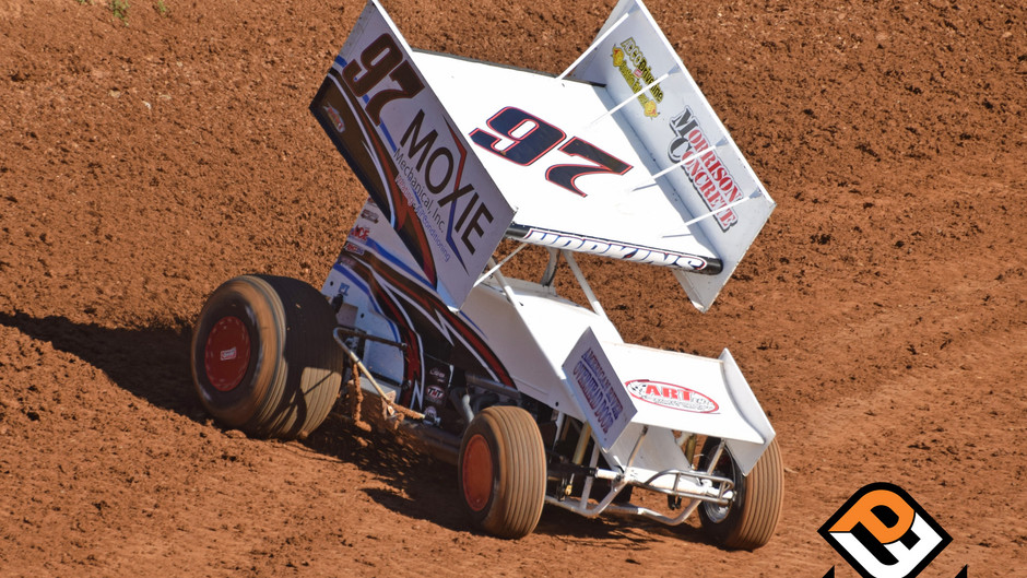 Shane Hopkins Takes Nasty Tumble at Placerville Speedway