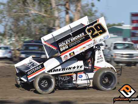 Willie Croft Captures KWS Top-10 as Part Failure Knocks Him out of SCCT Feature with C&M Motors