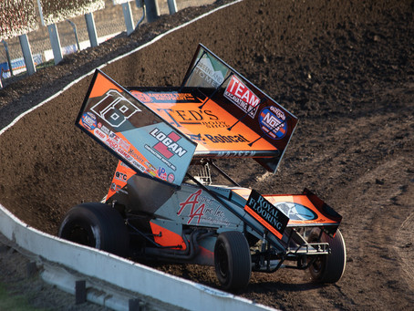 Madsen and KCP Racing Back In Top-5 With World Of Outlaws at Tri-State Speedway