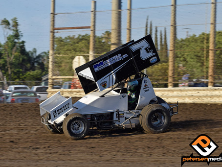 DJ Netto 4th During Cameo with C&M Motorsports at Merced Speedway