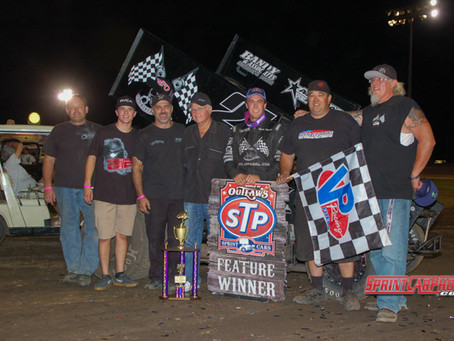 Macedo Earns First World of Outlaw Win