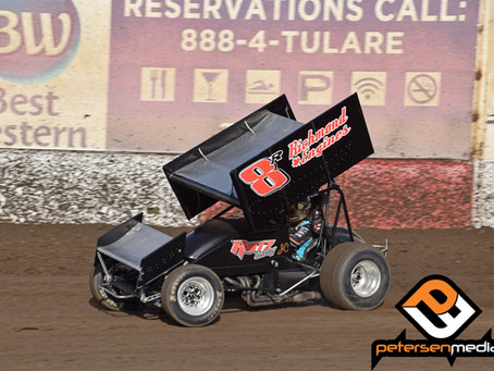 Part Failure Hinders Trophy Cup Finale for Justyn Cox