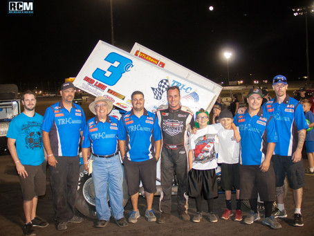 JA Finds Victory Lane at Silver Dollar Speedway